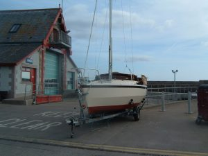 SWIFT 18 Sailing Boat and Road Trailer